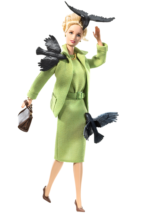 Alfred Hitchcock's 'The Birds' Barbie Doll