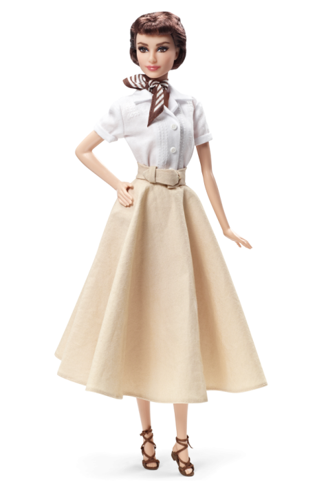 Audrey Hepburn in Roman Holiday Doll