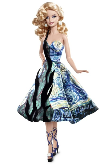 Barbie Doll Inspired by Vincent van Gogh