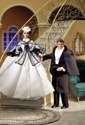 Ken Doll as Rhett Butler