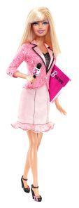 News Anchor Barbie doll