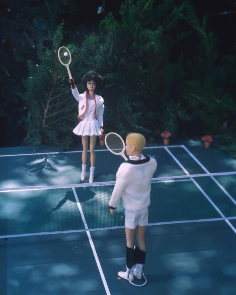 1962 Tennis Player
