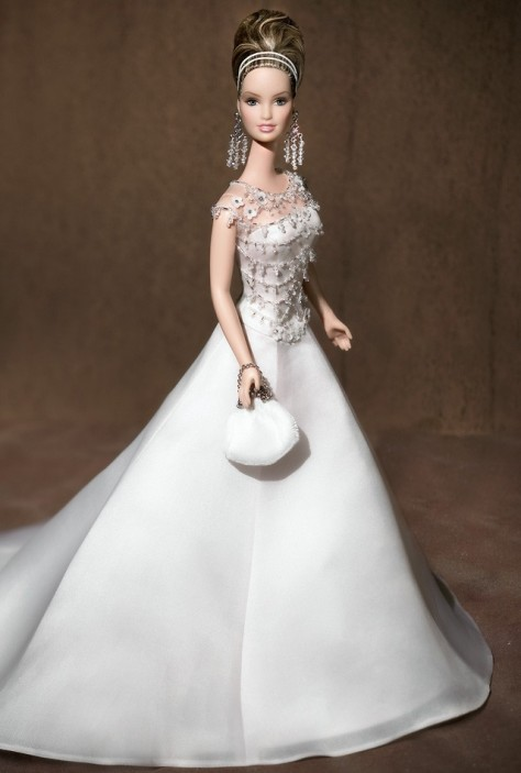 Badgley Mischka Bride Barbie Doll
