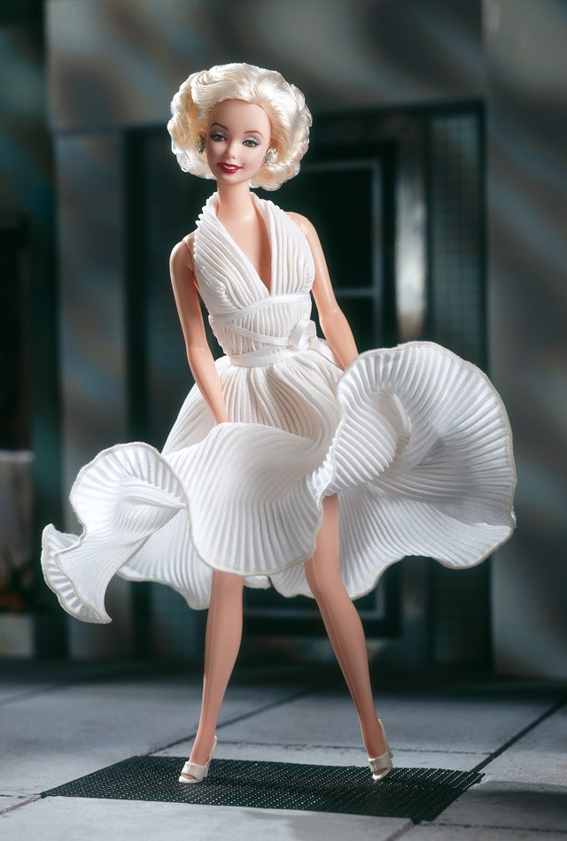 Barbie as Marilyn in the White Dress from The Seven Year Itch