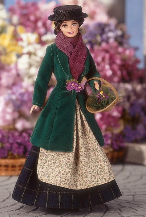 Barbie Doll as Eliza Doolittle from My Fair Lady as the Flower Girl