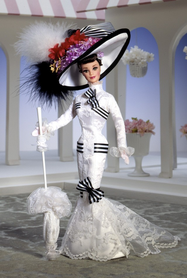 Barbie Doll as Eliza Doolittle from My Fair Lady at Ascot