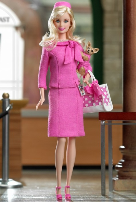 Barbie Doll as Elle Woods from Legally Blonde 2 Red, White & Blonde