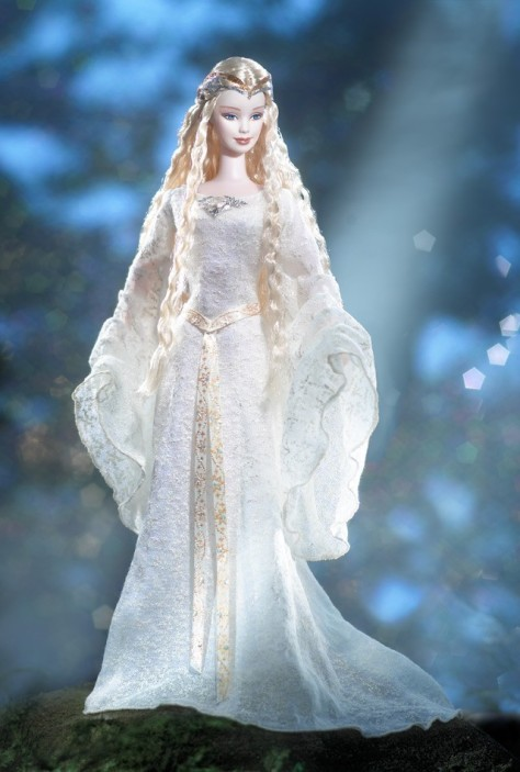 Barbie Doll as Galadriel in The Lord of the Rings The Fellowship of the Ring