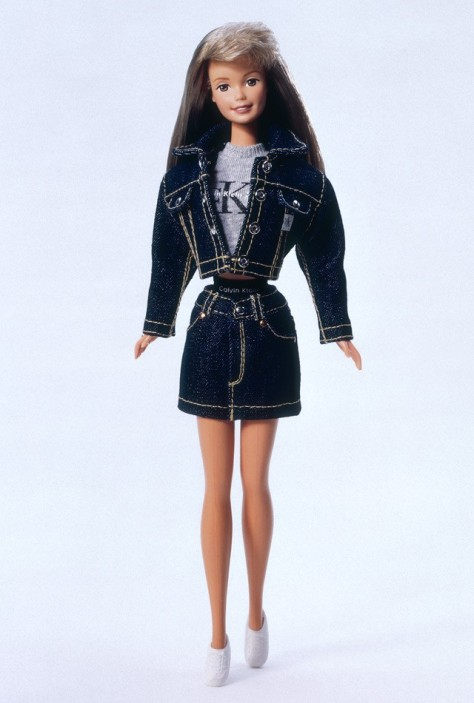 Calvin Klein Barbie Doll
