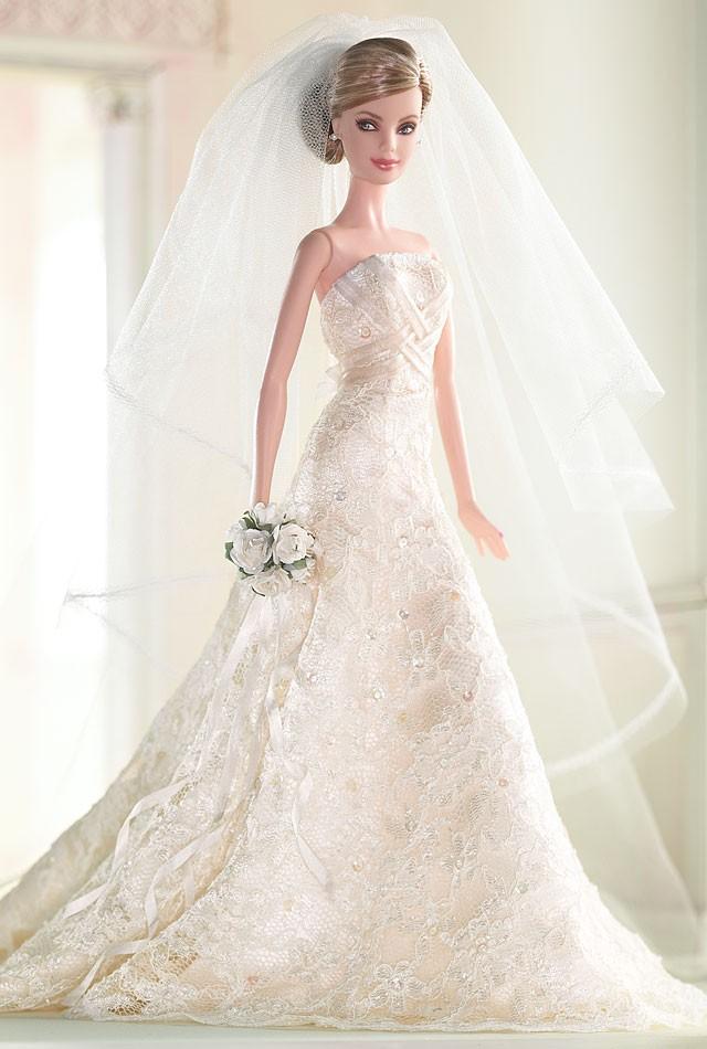 Carolina Herrera Bride Barbie® Doll