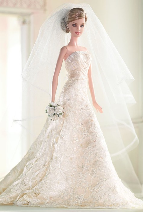 Carolina Herrera Bride Barbie® Doll