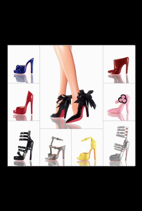 Christian Louboutin Barbie Shoe Collection