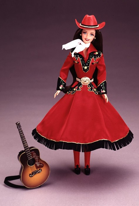 Country Rose Barbie Doll