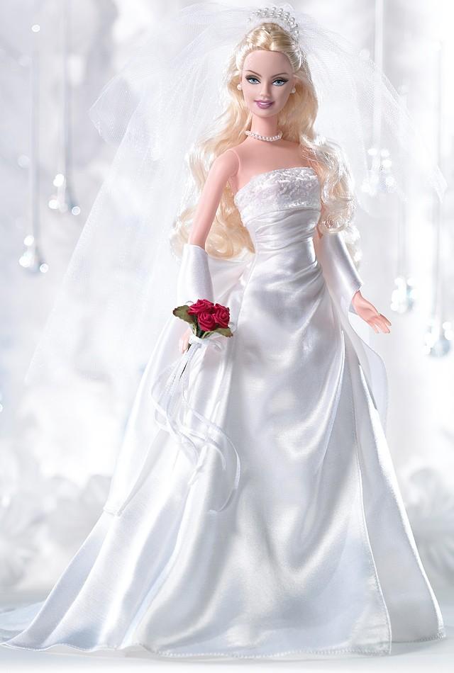 David's Bridal Eternal Barbie Doll