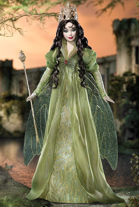 Faerie Queen Barbie Doll (Brunette)