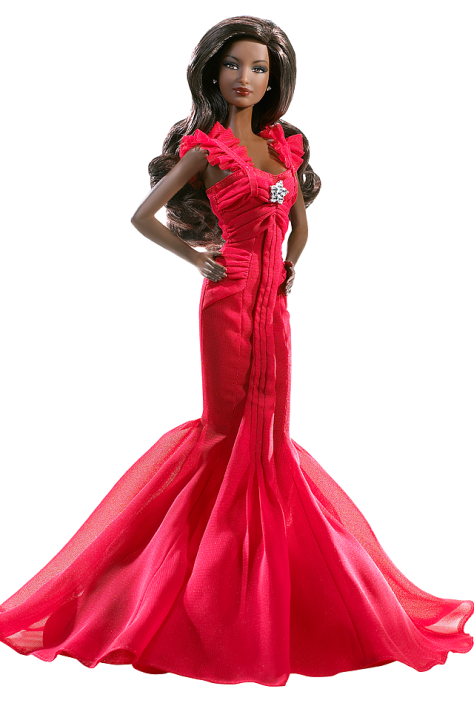 Go Red For Women Barbie Doll