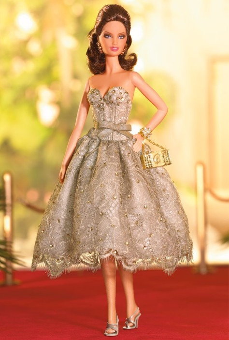 Judith Leiber Barbie Doll
