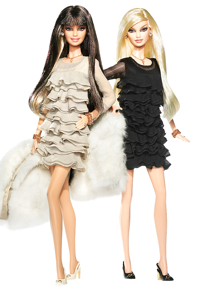Juicy Couture Beverly Hills G&P Barbie Dolls