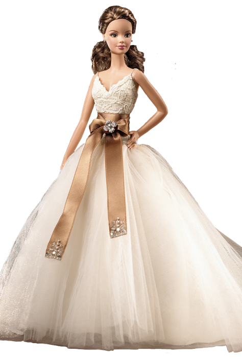 Monique Lhuillier Bride Barbie Doll