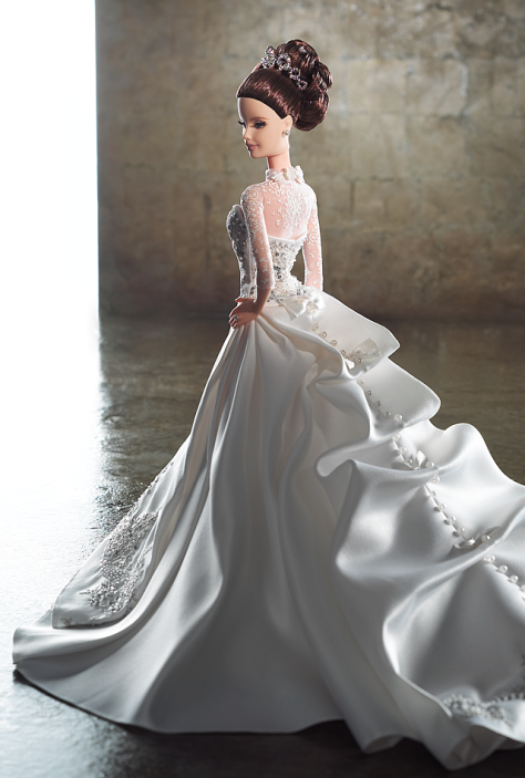 Reem Acra Bride Barbie Doll
