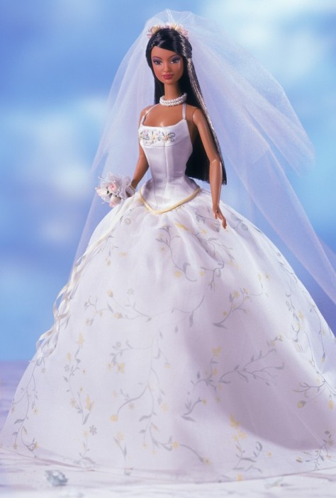 Romantic Wedding Barbie Doll