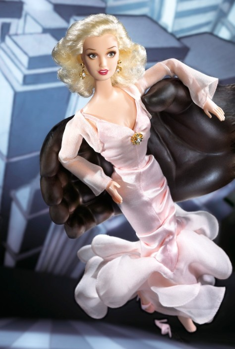 Starring Barbie Doll in King Kong