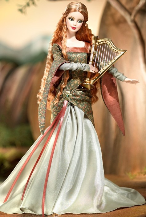The Bard Barbie Doll