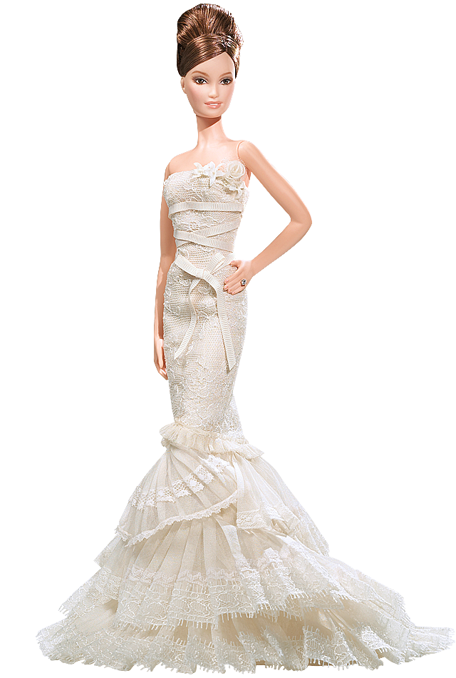 Vera Wang Bride The Romanticist Barbie Doll