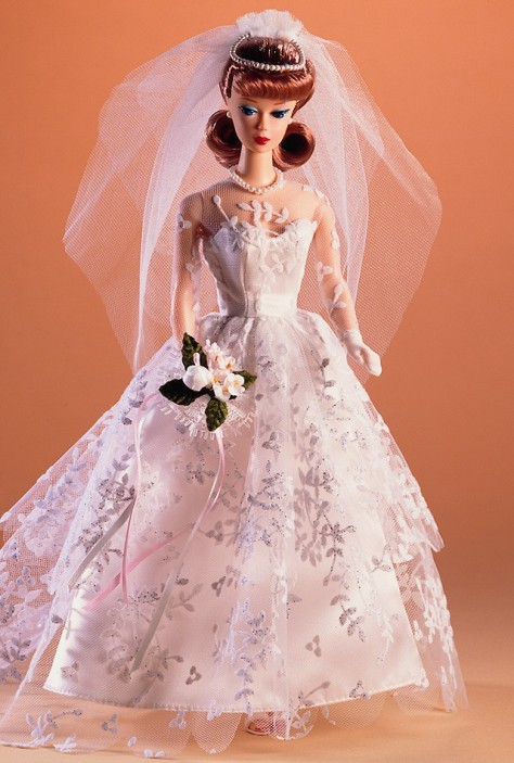 Wedding  Barbie Doll (Redhead)