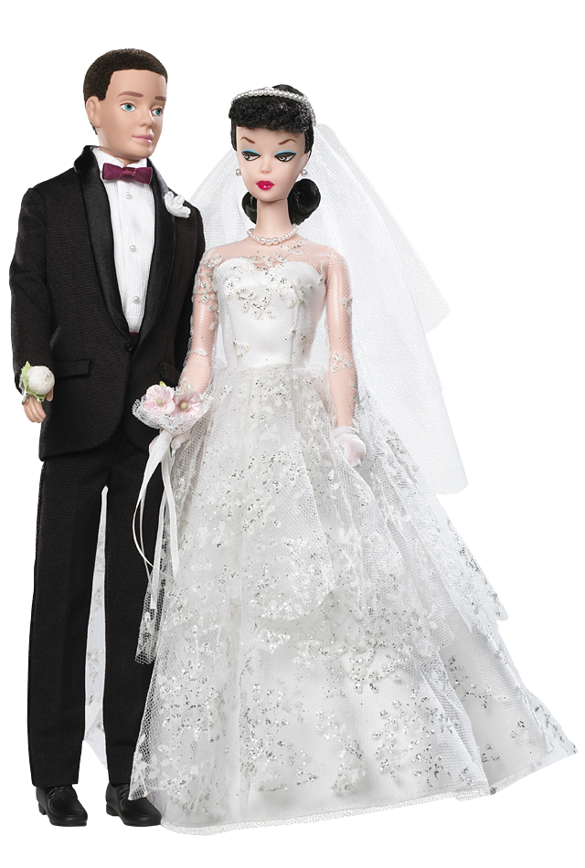 Wedding Day Barbie Doll and Ken Doll Giftset