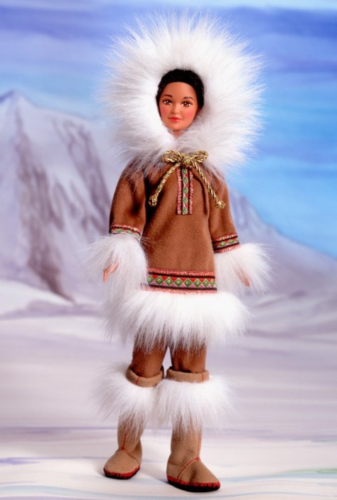 Arctic Barbie Doll