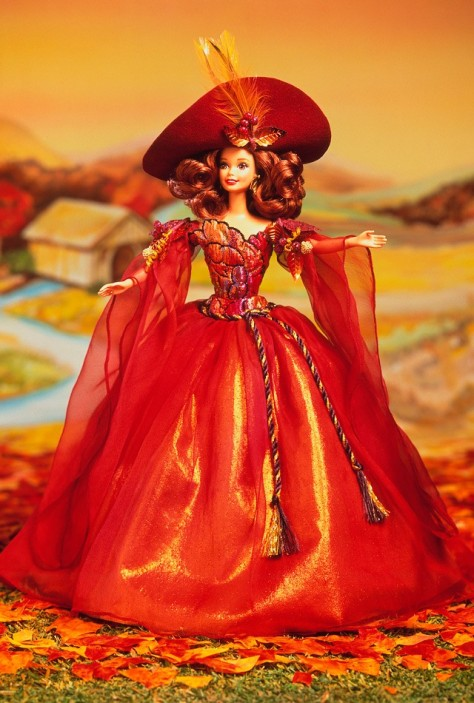 Autumn Glory Barbie Doll