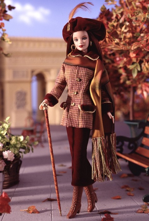 Autumn in Paris Barbie Doll