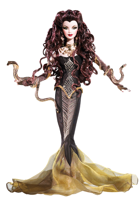 Barbie Doll As Medusa