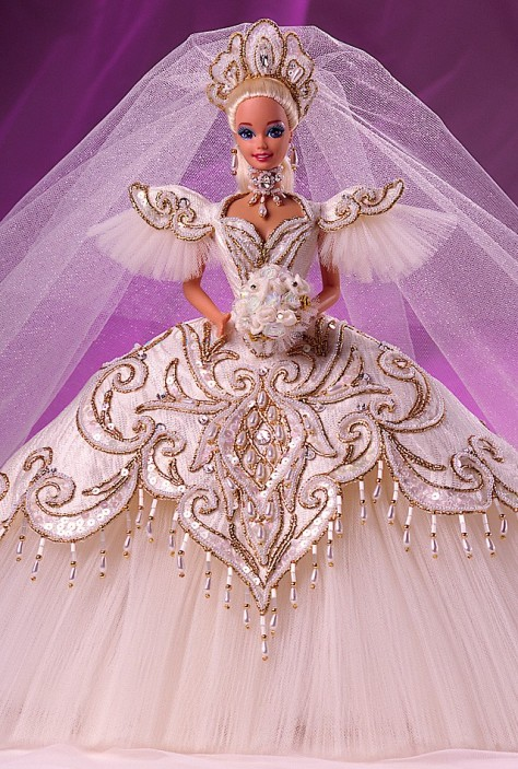 Bob Mackie Empress Bride Barbie Doll