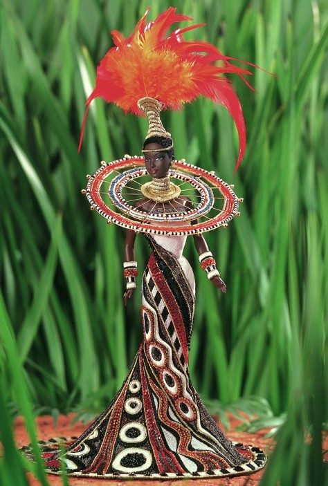 Bob Mackie Fantasy Goddess of Africa Barbie Doll