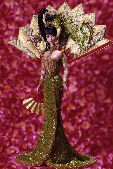 Bob Mackie Fantasy Goddess of Asia Barbie Doll