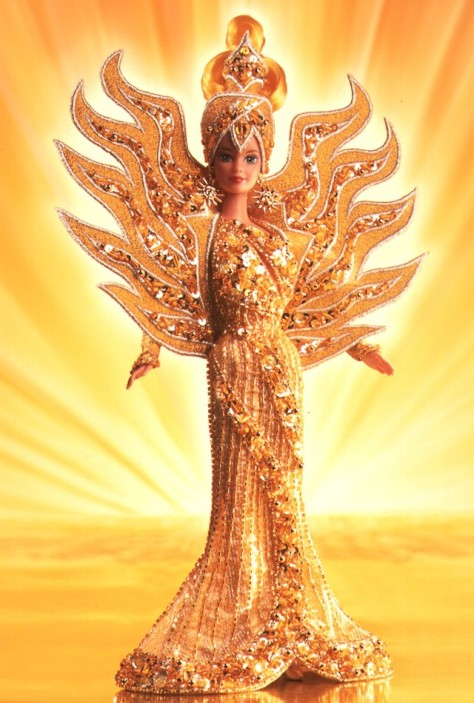 Bob Mackie Goddess of the Sun Barbie Doll