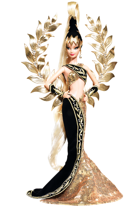 Bob Mackie Golden Legacy Barbie Doll