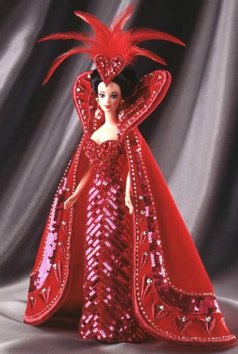 Bob Mackie Queen of Hearts Barbie Doll