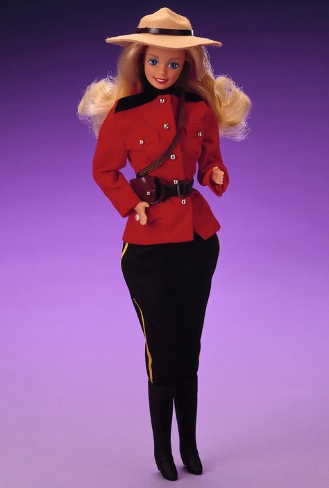Canadian Barbie Doll