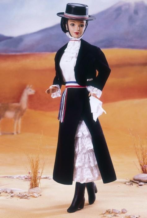 Chilean Barbie Doll