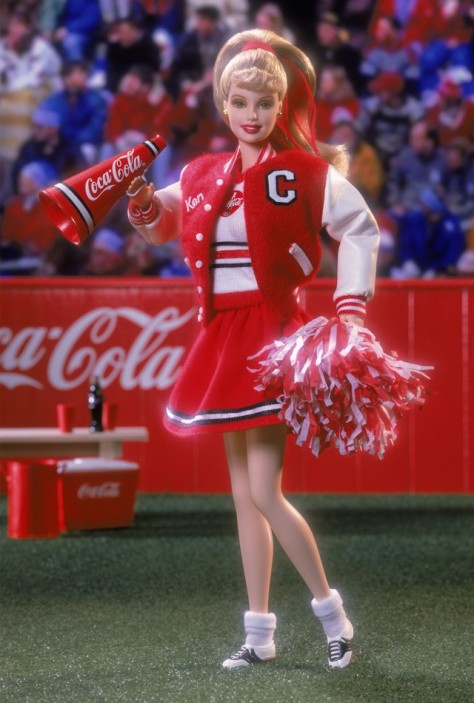 Coca-Cola Barbie Doll (Cheerleader)