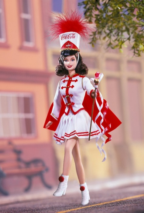 Coca-Cola Barbie Doll (Majorette)