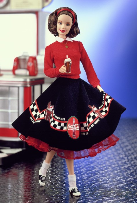 Coca-Cola Barbie Doll (Sweetheart)