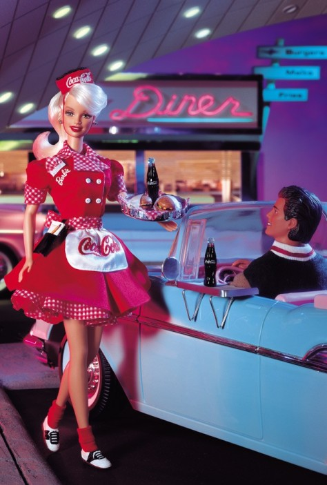 Coca-Cola Barbie Doll (Waitress)