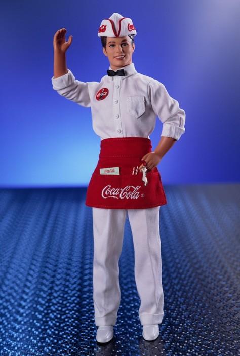 COCA-COLA Ken Doll
