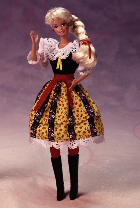 Czechoslovakian Barbie Doll