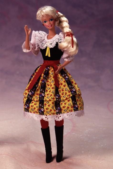 Czechoslovakian Barbie Doll