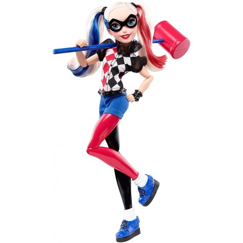 DC Super Hero Girls Harley Quinn Action Doll